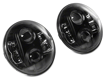 Picture of 7-Inch Round LED Headlights -  Black Housing - Clear Lens