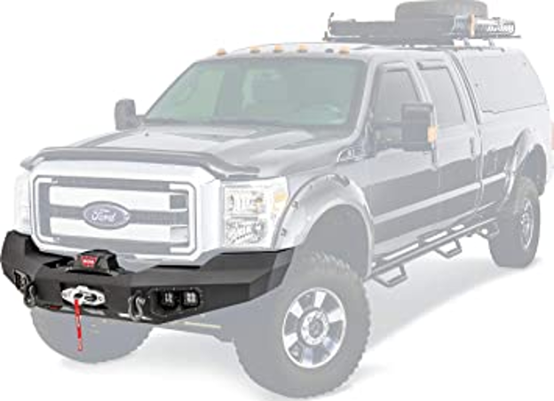 Picture of F250 11-16 front bumper with 30 inch light