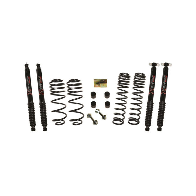 """Picture of Skyjacker 2.5""""  Long Travel Lift Kit System with Black MAX Shocks"""