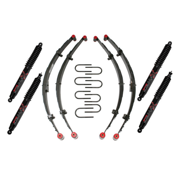 """Picture of Skyjacker 2.5"""" Sport Lift Kit with Black MAX Shocks"""