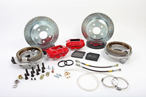 Picture of Baer Brakes Baer Claw Pro+ Disc Brake Systems 4402004B