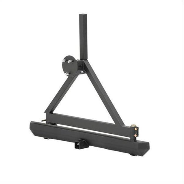 Picture of Smittybilt Rock Crawler Bumpers with Tire Carrier 76651